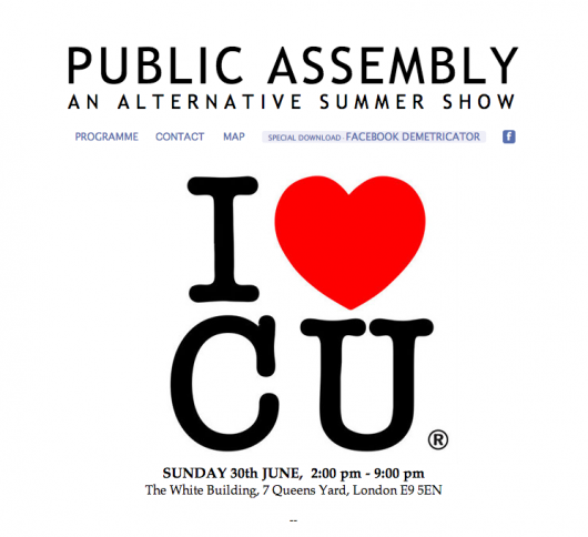 Public Assembly, at The White Building, London