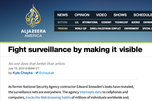 ScareMail on Al Jazeera