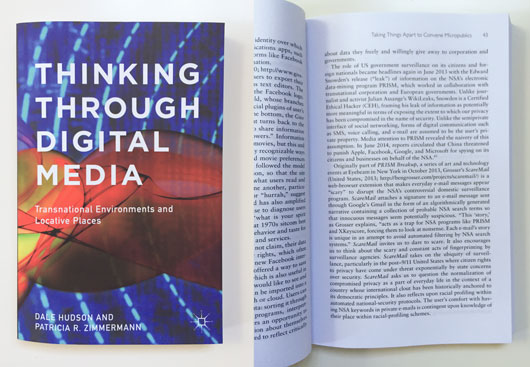 Thinking Through Digital Media by Dale Hudson and Patricia R. Zimmerman