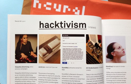 ScareMail Reviewed in Neural