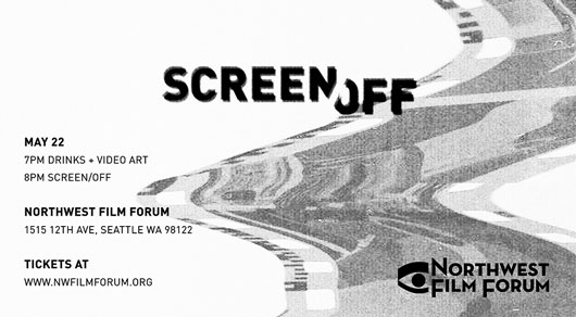 Computers Watching Movies (Annie Hall) in Screen Off at Northwest Film Forum