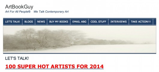 ArtBookGuy Named Me a Super Hot Artist for 2014