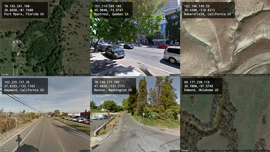 Tracing You (2015) [screenshot] -- computational surveillance system