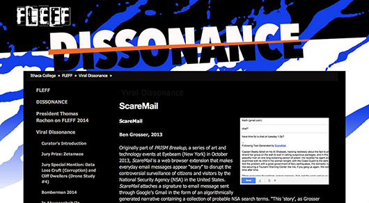 ScareMail in Viral Dissonance