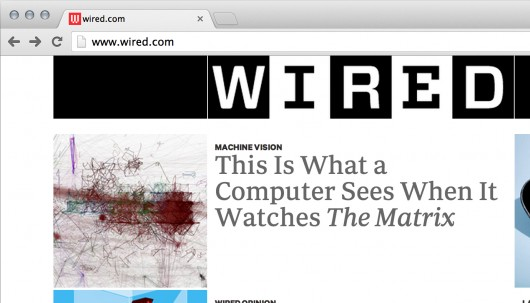 Computers Watching Movies on the front page of Wired