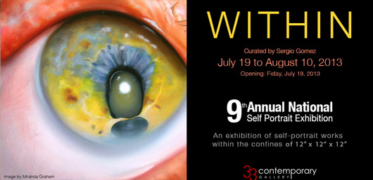 Within: National Self-Portrait Exhibition at 33 Contemporary in Chicago