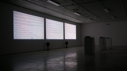You like my like of your like of my status [installation view]