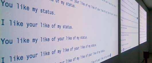 You like my like of your like of my status